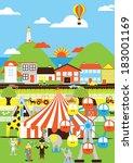 circus | Shutterstock . vector #183001169