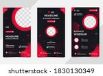 collection of social media... | Shutterstock .eps vector #1830130349