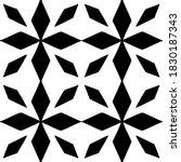 tile seamless pattern. black...   Shutterstock .eps vector #1830187343
