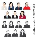 people business.  | Shutterstock .eps vector #183021524