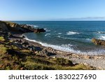 pebbles beach on the cayola... | Shutterstock . vector #1830227690