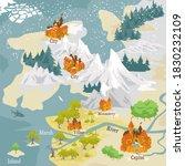 map builder illusrations for... | Shutterstock .eps vector #1830232109