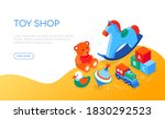 toys shop   modern colorful... | Shutterstock .eps vector #1830292523