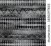 black and white ethnic tribal... | Shutterstock .eps vector #1830297833