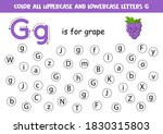 find and color all letters g.... | Shutterstock .eps vector #1830315803