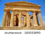Temple Of Concordia In...