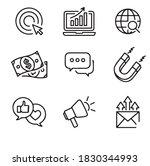 icon set web vector illustrator ...   Shutterstock .eps vector #1830344993