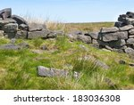 Broken Dry Stone Wall On...