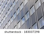 facade of a modern office... | Shutterstock . vector #183037298