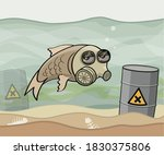 Water Pollution Concept...