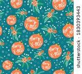 christmas flower seamless... | Shutterstock .eps vector #1830393443