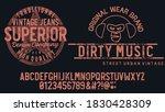 original vintage denim print...   Shutterstock .eps vector #1830428309