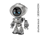 Cool Metal Robotic Toy 3d...