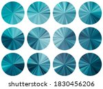 concentric metallic gradient ux ...