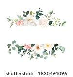 retro delicate vector design... | Shutterstock .eps vector #1830464096