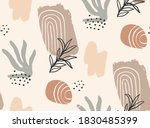 abstract nature shapes seamless ...   Shutterstock .eps vector #1830485399