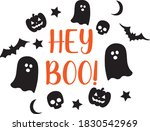 cute halloween  trick or treat  ...   Shutterstock .eps vector #1830542969