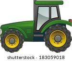 tractor | Shutterstock .eps vector #183059018