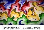 abstract cartoon background... | Shutterstock .eps vector #1830605906