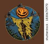 Halloween Scarecrow Creepy...