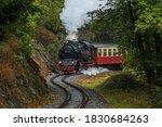 Historic Train In The Harz...