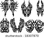 vector tribal | Shutterstock .eps vector #18307870