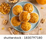 Carrot Muffins With Walnut ...