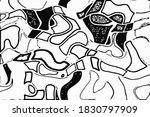 grunge vector overlay. black... | Shutterstock .eps vector #1830797909