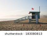 Santa Monica Beach Lifeguard...