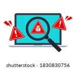 Computer Bug Detection Icon....