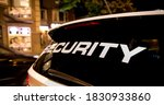 Security Vehicle Patrolling...