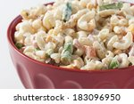 Macaroni Salad With Cheese And...