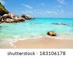 A Idyllic Tropical Beach