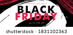 black friday sale banner with... | Shutterstock .eps vector #1831102363