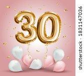 elegant greeting celebration... | Shutterstock .eps vector #1831147036