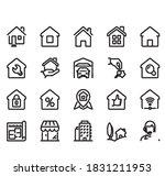 icon home vector illustrator... | Shutterstock .eps vector #1831211953