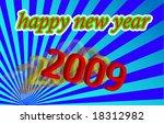 2009 happy new year | Shutterstock .eps vector #18312982