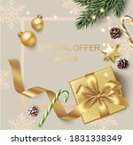 new year and christmas design... | Shutterstock .eps vector #1831338349