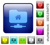 ftp home directory icons in... | Shutterstock .eps vector #1831356973