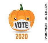 vote 2020   vector illustration ... | Shutterstock .eps vector #1831367326