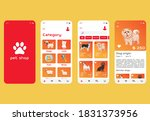 pets shop app ui design.pets...