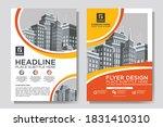 flyer cover business brochure...   Shutterstock .eps vector #1831410310