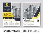 flyer cover business brochure...   Shutterstock .eps vector #1831410313
