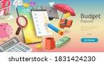 3d vector conceptual... | Shutterstock .eps vector #1831424230