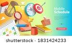 3d vector conceptual... | Shutterstock .eps vector #1831424233