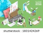 3d isometric flat vector... | Shutterstock .eps vector #1831424269