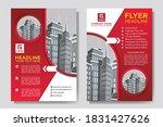 flyer cover business brochure...   Shutterstock .eps vector #1831427626