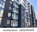 new residential building.... | Shutterstock . vector #1831494349