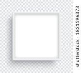 square white frame isolated on... | Shutterstock .eps vector #1831596373