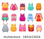 School Bag And Backpack For...
